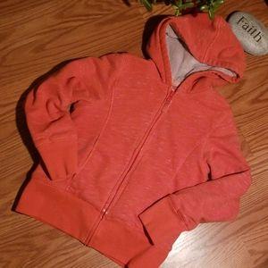 L.l.bean thick hooded zip up sweatshirt 8